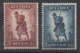Belgique - YT N° 351 à 352 - Neufs * - MH - Cote: 160,00 € - Nuovi