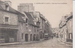 22  -GUINGAMP-rue Des Ponts St Michel - Guingamp