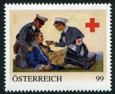 ÖSTERREICH / PM Nr. 8112770 / Rot Kreuz Karte 1. Weltkrieg / Postfrisch / ** - Personalisierte Briefmarken