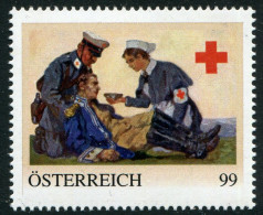 ÖSTERREICH / 8112770 / Rot Kreuz Karte 1. Weltkrieg / Postfrisch / ** - Private Stamps