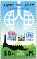 N° Michel 2355 (YT N° 1990) - Timbre D´Egypte (MNH) - (2008) - International Environment Day (JS) - Egypt
