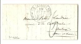 Paris  Pour Un Vicaire à La Cathedrale D'autun (Saone Et Loire)- CHAMBRE DES PAIRS. Pothion 1220. Cote 30e - 1801-1848: Precursors XIX