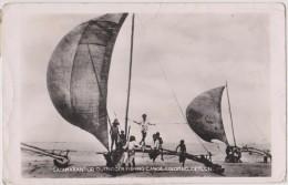 ASIE,ASIA,SRI LANKA,CEYLAN,CEYLON,colombo,métier,pécheur à L´ancienne,Catamaran Outrigger Fishing Canoe,rare - Sri Lanka (Ceylon)