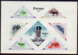 Europa 1961 - Lundy - Pferde Horse - Europa-CEPT