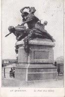 ST. QUENTIN - Le Pont (La Seine) - Feldpostkarte 1915 !! - Saint Quentin