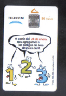 ARGENTINA  CHIP PHONECARD - 1999 / 200.000 - Argentinien