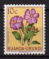 RUANDA URUNDI - 1953 Scott# 114 * - Ruanda