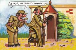 PR821 - POSTAL - ¿ QUE, SE ESTA COMODO ? - Humor