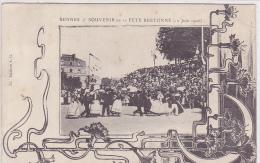 Cpa-35-rennes--souvenir De La Fete Bretonne-edi A.G. N°14 - Rennes
