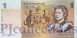 AUSTRALIA 1 DOLLAR 1983 PICK 42d UNC - 1974-94 Australia Reserve Bank (paper Notes)