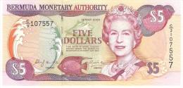 BERMUDA 5 DOLLARS 2000 PICK 51a UNC - Bermudas