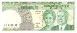 CAMBODIA 100000 RIELS 1995 PICK 50a UNC - Cambodge