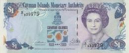 CAYMAN ISLANDS 1 DOLLAR 2003 PICK 30a UNC