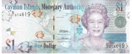 CAYMAN ISLANDS 1 DOLLAR 2010 PICK 38a UNC