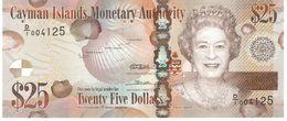CAYMAN ISLANDS 25 DOLLARS 2010 PICK 41 UNC