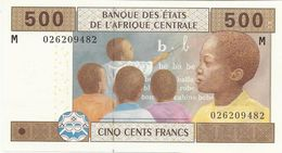 CENTRAL AFRICA STATES 500 FRANCS 2002 PICK 306M UNC - Autres - Afrique