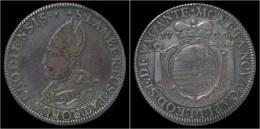 Southern Netherlands Liege Sede Vacante Ecu Au St.Lambert 1724 - Belgique