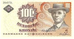 DENMARK 100 KRONER 2002 PICK 61 UNC - Danemark