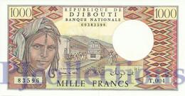 DJIBOUTI 1000 FRANCS 1991 PICK 37d UNC - Djibouti