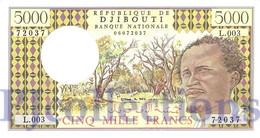 DJIBOUTI 5000 FRANCS 1998 PICK 38d UNC - Djibouti