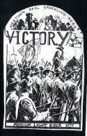 New Zealand Victory Beer Label - Beer