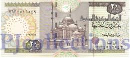 EGYPT 20 POUNDS 2004 PICK 65 UNC - Egypte