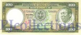EQUATORIAL GUINEA 100 EKUELE 1975 PICK 11 UNC - Equatorial Guinea