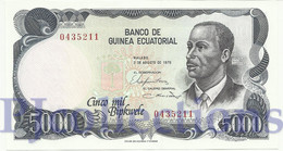 EQUATORIAL GUINEA 5000 BIPKWELE 1979 PICK 17 UNC - Guinée Equatoriale