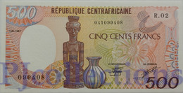 EQUATORIAL GUINEA 500 FRANCS 1985 PICK 20 UNC - Equatoriaal-Guinea