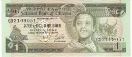 ETHIOPIA 1 BIRR 1978 PICK 30b UNC - Ethiopie