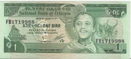 ETHIOPIA 1 BIRR 1991 PICK 41b UNC - Ethiopie