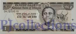 ETHIOPIA 1 BIRR 2003 PICK 46c UNC - Ethiopie
