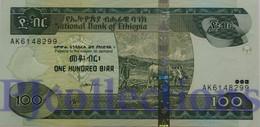 ETHIOPIA 100 BIRR 2004 PICK 52b UNC - Ethiopie