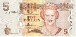 FIJI 5 DOLLARS 2007 PICK 110a UNC - Fidji