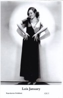 LOIS JANUARY - Film Star Pin Up - Publisher Swiftsure Postcards 2000 - Attori
