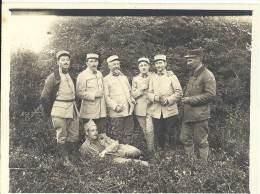 Photo Guerre 1914-18 - Groupe D'officierss Français Du 1er Régiment De Génie - Aérostiers Versailles - War, Military