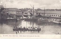 Cpa - Sainte Lucia - Prince Alfred Basin ( En L´état ) - Christmas Island