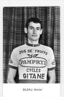 Michel BILEAU - Equipe PAMPRYL - 2 Scans - Cyclisme