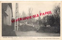 62 - HEBUTERNE - BARRAGE PRES L' ENTREE DE LA RUE PRINCIPALE - Laventie