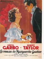ACTRESS/FILM ADVERT CARD - GRETA GARBO. REPRINT - Film