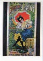 PUBLICITE - Reproduction Affiche Ancienne  - Eau Minérale Naturelle De Couzan,Source Brault - Advertising