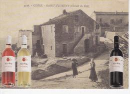 SAINT FLORENT (20-2B Haute Corse), Circuit Du Cap, Vignerons D'Alesia Et Casinca, Vin Patrimonio, Michel Martin, Rougets - Recettes (cuisine)