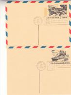 Etas Unis - 3 Cartes Postale De 1972 - Oblitération U.S. Postal Service - Chutes D'eau - Vues Touristiques