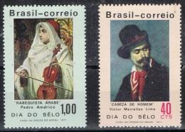 BB 435 BRAZILIE  XX  YVERT NRS 957/958  ZIE SCAN - Stamps