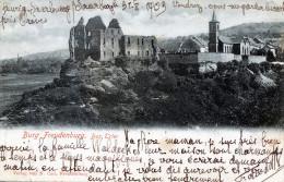 Burg Freudenburg. Bez Trier - Germania