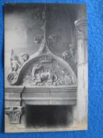 Chateau De Blois. Fronton De Porte Renaissance (salamandre A Tete De Chien). ND 548. - Blois