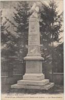 CPA 71 SEMUR EN BRIONNAIS Monument Aux Morts Guerre 1914 1918 1922 - Sin Clasificación