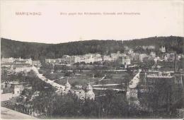 MARIENBAD (MARIANSKE LAZNE) 221 BLICK GEGEN DEN KIRCHENPLATZ COLONADE UND KREUZBRUNN  1906 - Tchéquie