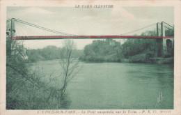 LISLE SUR TARN - L'Isle Sur Tarn Le Pont Supendu Sur Le Tarn - Lisle Sur Tarn