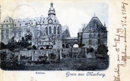 Gruss Aus Marburg. Schloss (1899) - Saluti Da.../ Gruss Aus...
